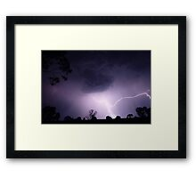Lightning (2) Framed Print
