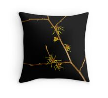 First Flower Throw Pillow