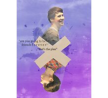 Dan & Phil - Best Friends Forever Print Photographic Print