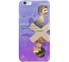 Dan & Phil - Best Friends Forever Print iPhone Case/Skin
