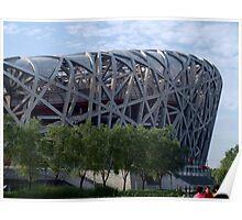 'Bird Nest' Beijing National Olympic Stadium Poster