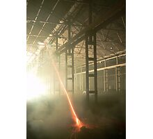 Warehouse Firework Photographic Print