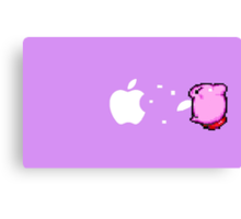 Kirby Apple Canvas Print