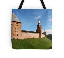 fortress wall of the Novgorod Kremlin Tote Bag