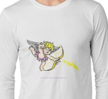 Pixel Cupid 1 Long Sleeve T-Shirt