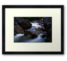 Light was  fading 2 Framed Print