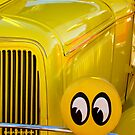 Classic Car Abstract by Susan Bergstrom