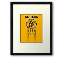 Captains Framed Print