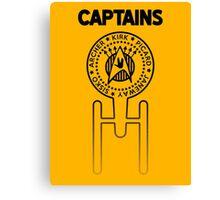 Captains Canvas Print
