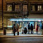 Bus stop 1 by Bartek Kuzia