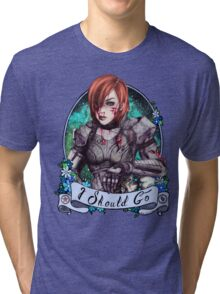 I Should Go (color) Tri-blend T-Shirt