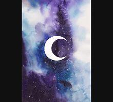space (crescent moon) Unisex T-Shirt