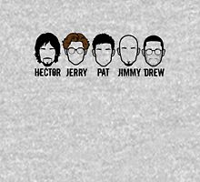 Niart Faces - Hector, Jerry, Pat, Jimmy and Drew Unisex T-Shirt