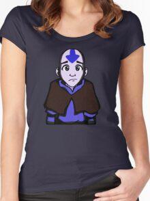 Aang Women's Fitted Scoop T-Shirt
