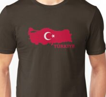 Türkiye turkey map Unisex T-Shirt