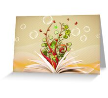 Book Greeting Card