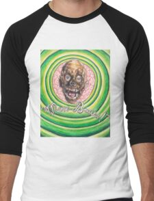 Tarman: More Brains! Men's Baseball ¾ T-Shirt