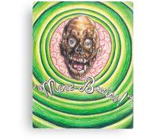 Tarman: More Brains! Canvas Print