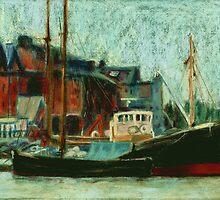 Gloucester Docks - Old Boats by helikettle
