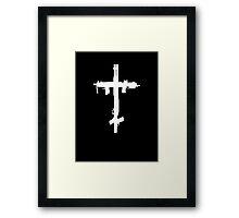 Trap Gun Cross Framed Print