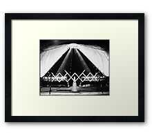 Bethesda Metro Closed! Framed Print