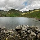 Kentmere reservoir panorma by eddiej