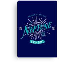 Vintage Neptune Canvas Print