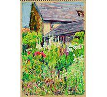 Garden of Craft Centre near Abergavenny Photographic Print