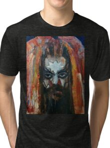 ROY WOOD Portrait. Wizzard, ELO, The Move Tri-blend T-Shirt