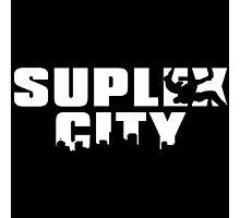 Brock Lesnar - SUPLEX CITY Photographic Print