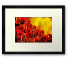 Poppy reverie'... Framed Print