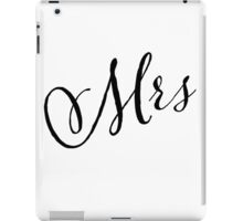 MRS GRAPHIC SLOGAN iPad Case/Skin