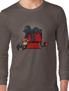 Dragon Peanuts Long Sleeve T-Shirt