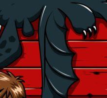 Dragon Peanuts Sticker