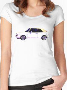 VW MK1 Golf GTi Women's Fitted Scoop T-Shirt