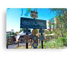 Radiator Springs Entrance Metal Print