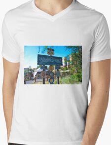 Radiator Springs Entrance Mens V-Neck T-Shirt