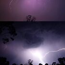 Lightning Collage by Clive