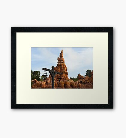 The Wildest Ride in the Wilderness Framed Print