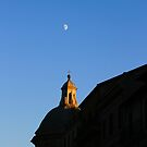 Sunset over Rome in Italy by naffarts