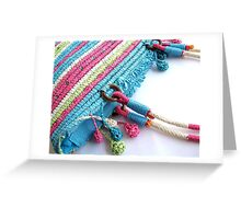Colourful Bag Greeting Card