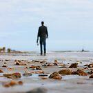 Walking on the beach by naffarts