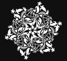 Sea Turtle ZOOFLAKE One Piece - Long Sleeve