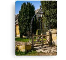 Church Arches Canvas Print