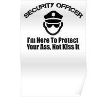 security officer Poster