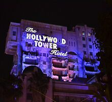Hollywood Tower Hotel by Gianna Oliveri