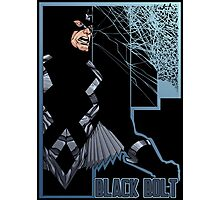 Black Bolt Photographic Print