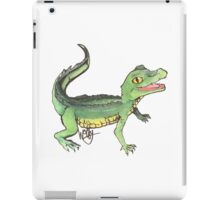 Happy Gator iPad Case/Skin