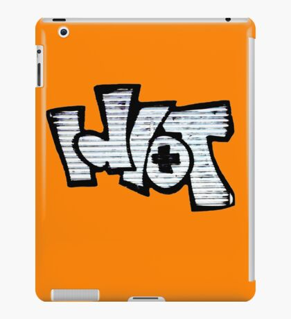 Idiot Graffiti iPad Case/Skin