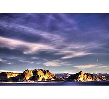 Sunrise at Lake Powell Above the Glen Canyon Dam Photographic Print